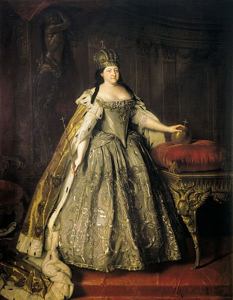Anna of Russia by Louis Caravaque, 1730