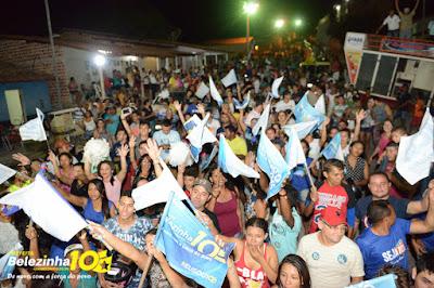 Belezinha reúne multidão na rua 7 de setembro