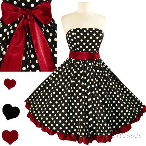 Top 5 Rockabilly Swing Prom Pin-Up Dresses