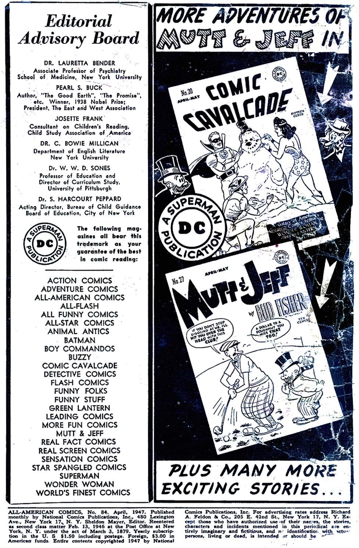 Read online All-American Comics (1939) comic -  Issue #84 - 2