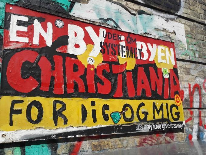 Christianshavnin Christiania on hyvä kohde Kööpenhaminaan