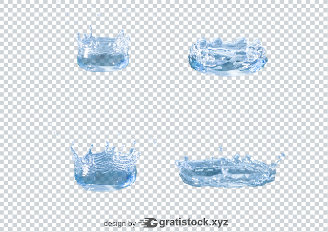 Free Download Psd Of  Stock Photo Water and Water Splash Png.