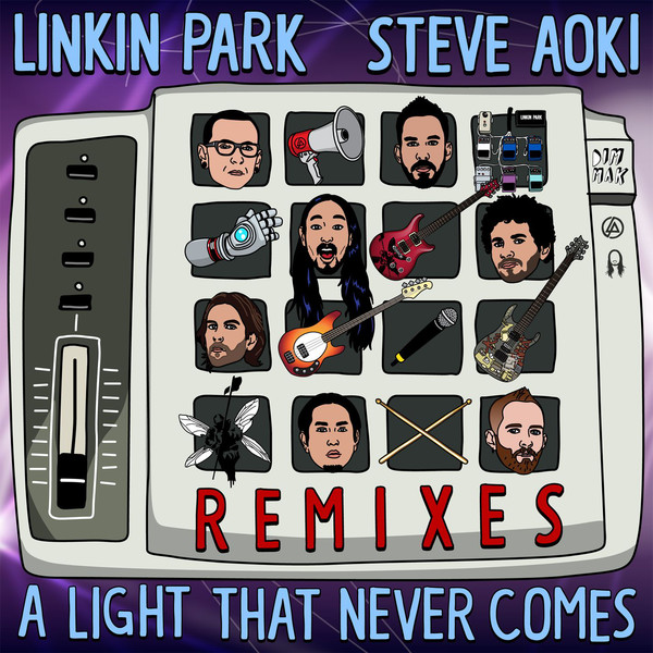 LINKIN PARK & Steve Aoki - A LIGHT THAT NEVER COMES (Remixes) Cover
