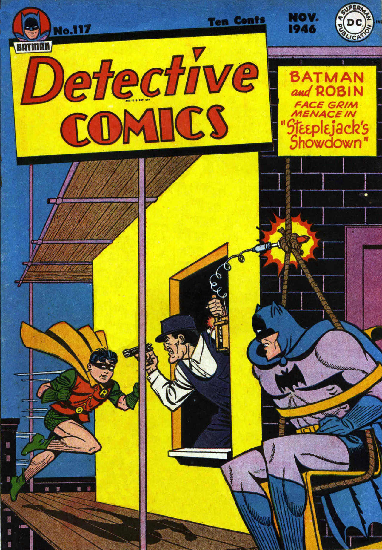 Read online Detective Comics (1937) comic -  Issue #117 - 1
