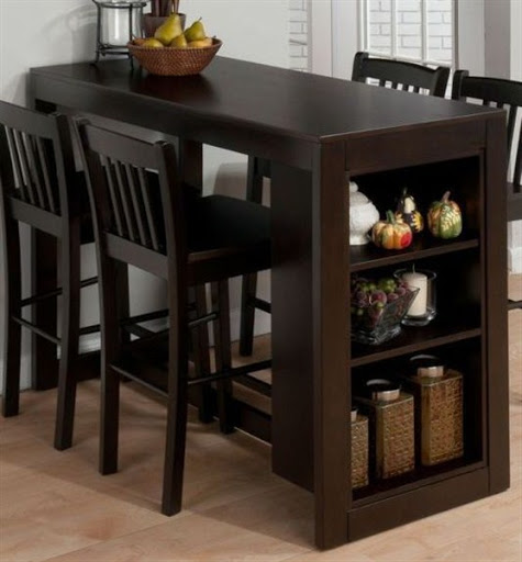 counter height dining table and chairs