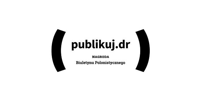 Publikuj.dr - logo konkursu