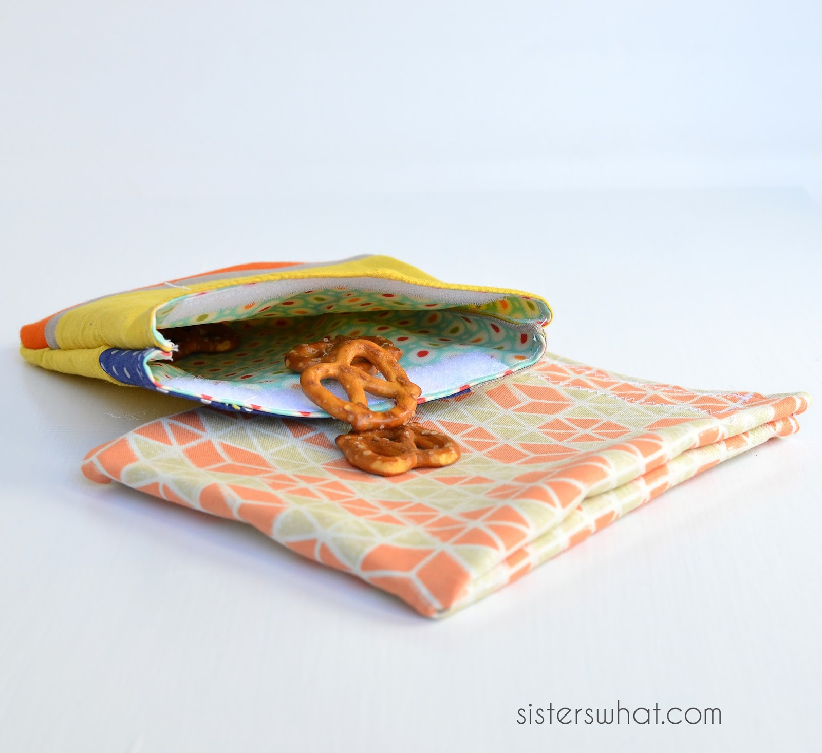 reusable baggies sewing tutorial