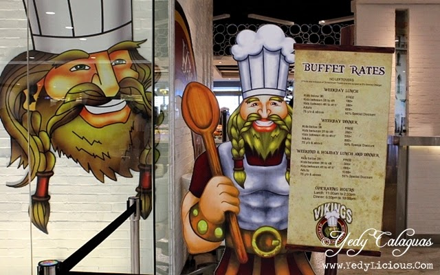 Vikings Buffet Rate, Prices, Promos, Operating Hours