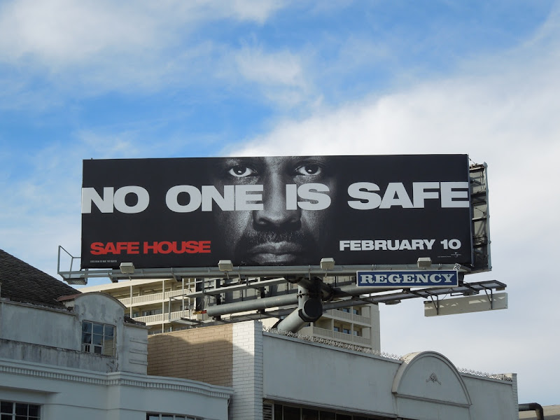 No One Is Safe billboard