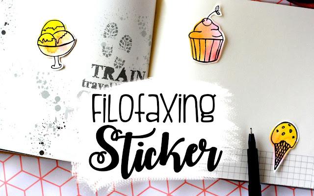Filofaxing Idee - Sticker