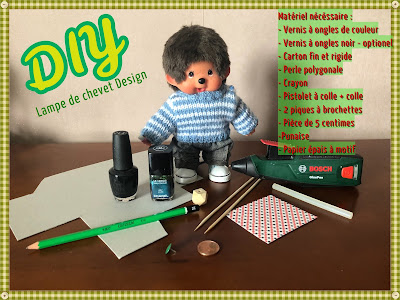 DIY Tuto lampe de chevet design miniature fait main handmade tutorial bricolage