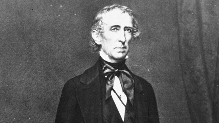 Vvos dos nietos del expresidente de Estados Unidos John Tyler, nacido en 1790