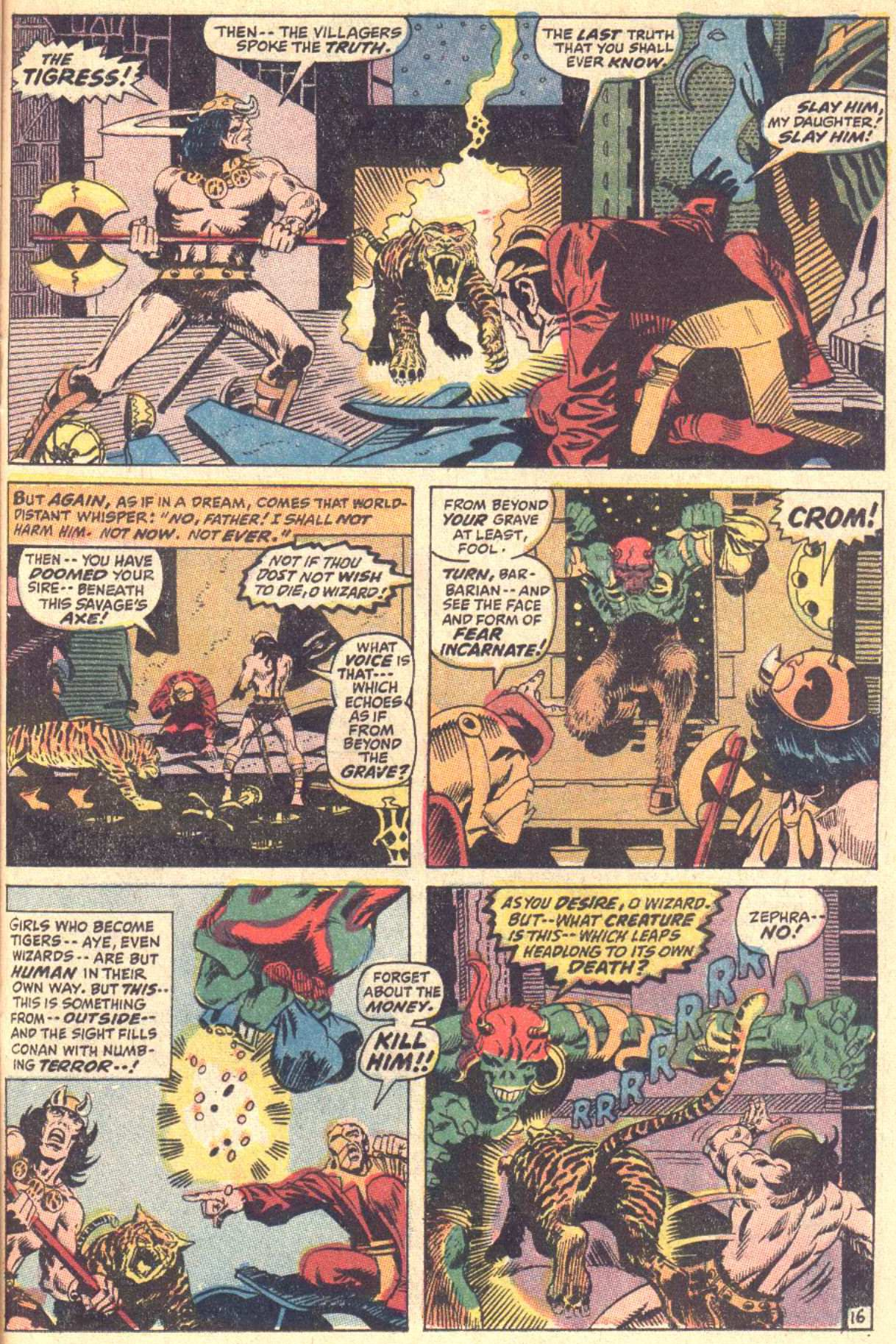 Conan the Barbarian (1970) Issue #5 #17 - English 17
