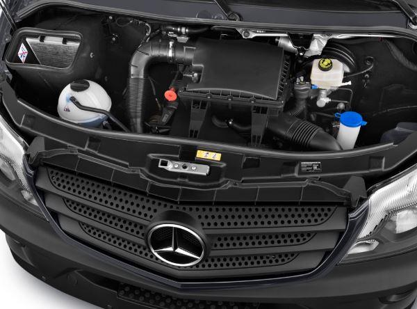 2017 Mercedes Benz Sprinter Passenger Vans Engine