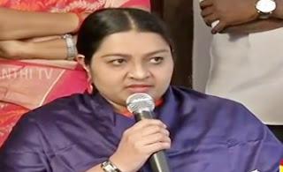 Jayalalithaa's niece Deepa announces new political party in Tamil Nadu | Thanthi Tv
