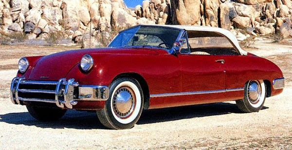 Car Style Critic: Early 1950s American Sports Cars