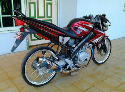 Modifikasi Motor Vixion 2012