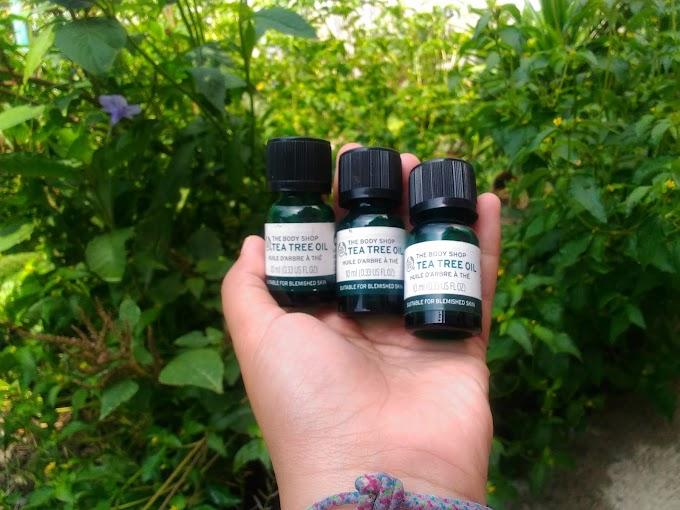 REVIEW: The Body Shop Tea Tree Oil untuk Jerawat