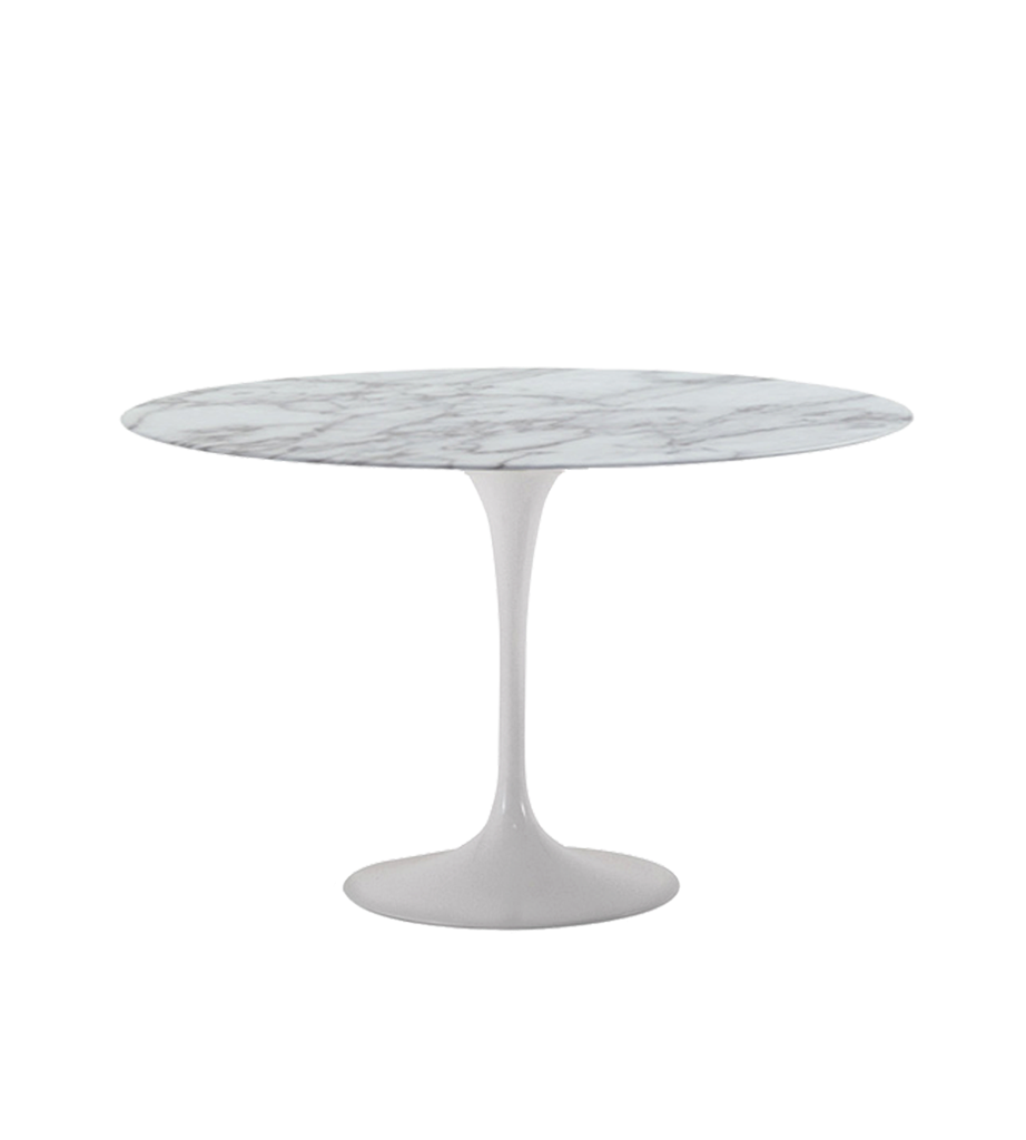 Prairie perch my top 5 round dining tables for Table salle a manger blanc