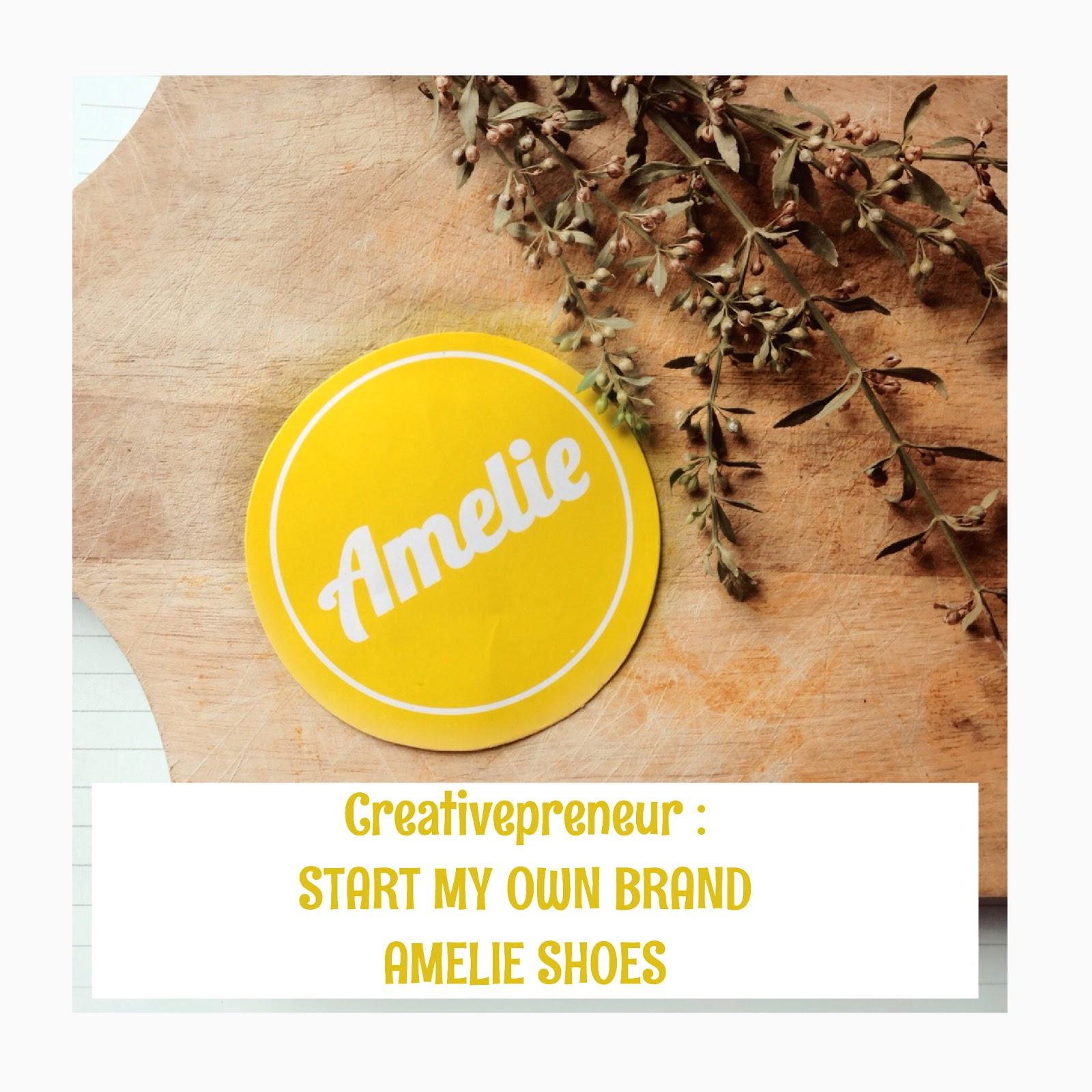 Saya belum pernah mengulik lebih dalam mengenai bisnis yang sudah saya jalankan selama 3 tahun yaitu brand handmade shoes yang bernama Amelie Shoes