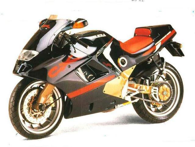 Gilera CX125 Motorbike