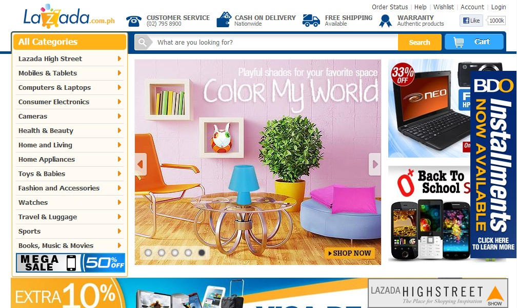 LazadaPH Review: Lazada Online Mall: Why Shopping Here is A