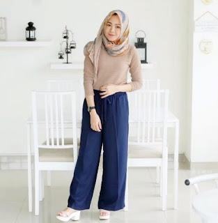 Model celana paling hits 2018, Celana Kulot