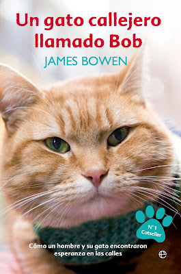 Reseña | Un gato callejero llamado Bob - James Bowen