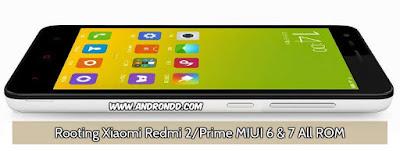 Rooting Xiaomi Redmi 2/Prime MIUI 6/7 All ROM