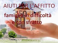 contributi per l'affitto alle famiglie in difficoltà e a basso reddito
