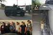 """Filtran Fotografías de detenidos así fue el fuerte operativo e Culiacán hasta """"Cuerno de Chivo""""  bañando en oro decomisaron"""