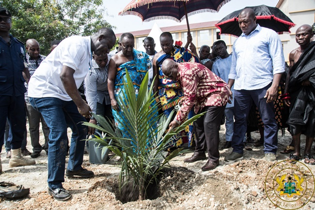 """P.E.R.D. Will Diversify Ghana's Agriculture; Enhance Foreign Exchange Earning Capacity"" – President Akufo-Addo"