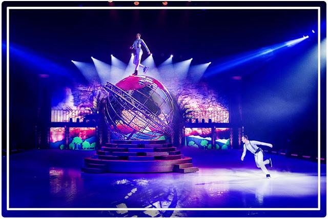 Tournée française de Showtime  de Holiday on Ice : le planisphère géant