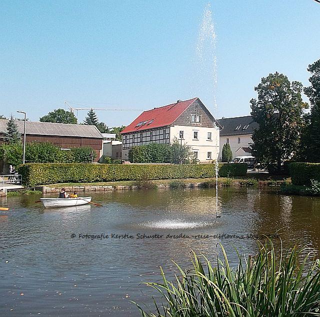 Dresden Weißig gondeln