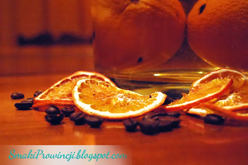 Likier pomarańczowo – kawowy - przepis