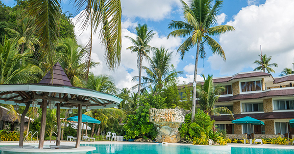 Caluwayan Palm Island Resort in Samar, Philippines