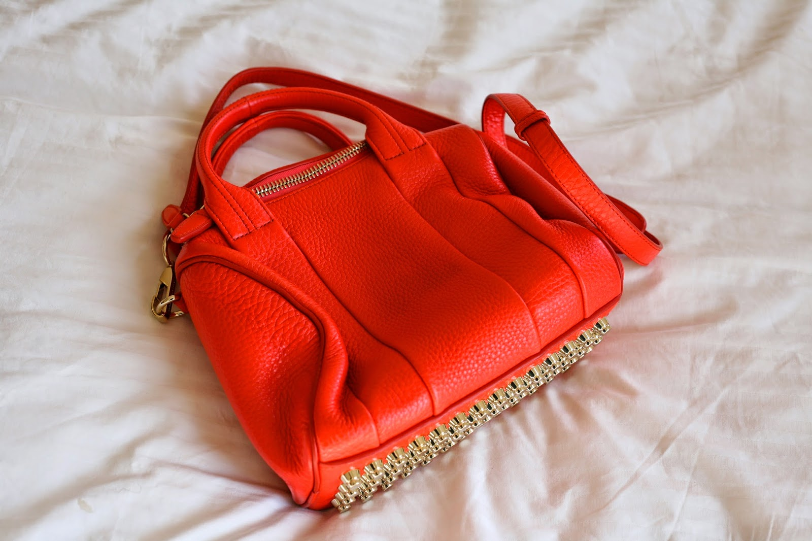 Brand New Bag Orange Alexander Rockie Duffel