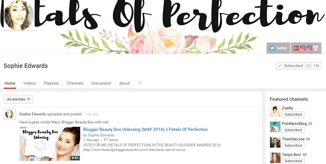 Petals Of Perfection YouTube