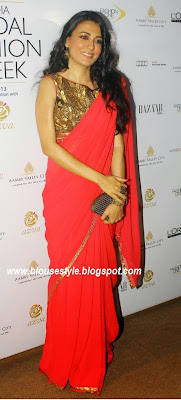 NORTH INDIAN RED SAREE