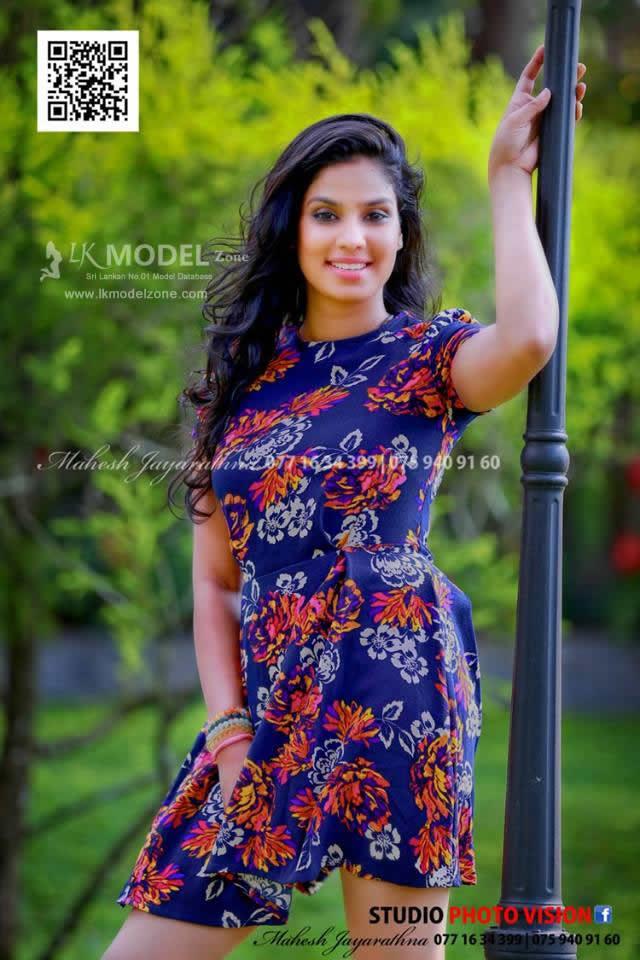 Actress  Models Rithu Akarsha - Sri Lankan Beautiful Hot -3332