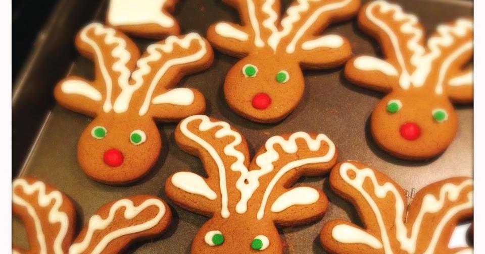 Kraftykym Gingerbread Reindeer Minnesota Too