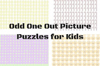 Odd One Out Picture Puzzles for Kids With Answers