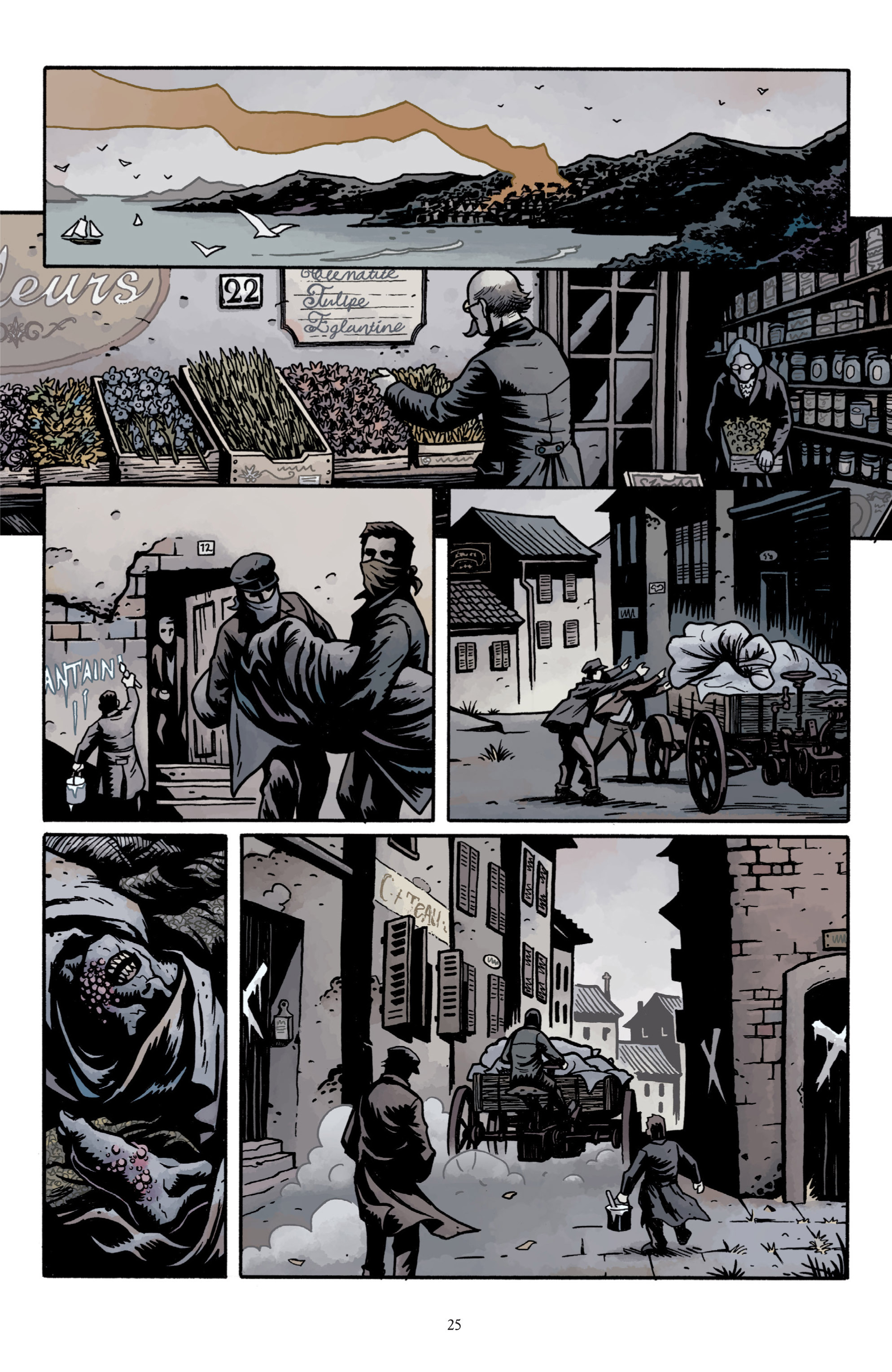Read online Baltimore: The Plague Ships comic -  Issue # TPB - 27