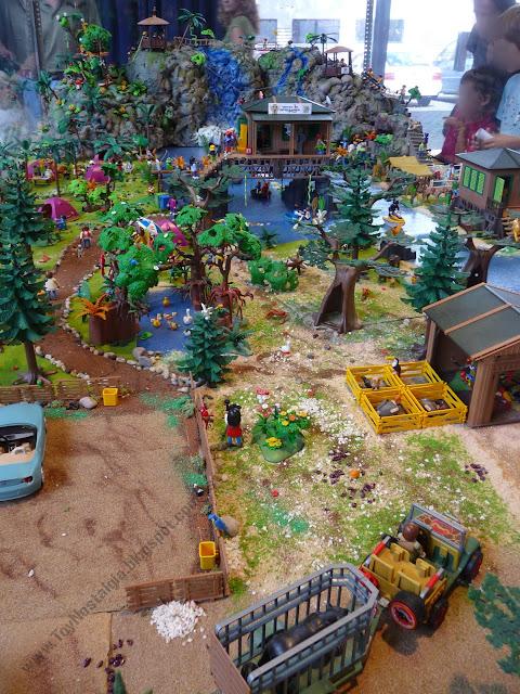 diorama Playmobil Aventuras Adventures