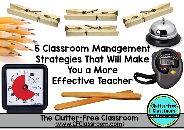 Elementary Classroom Management Techniques : Easy classroom management strategies that will make you