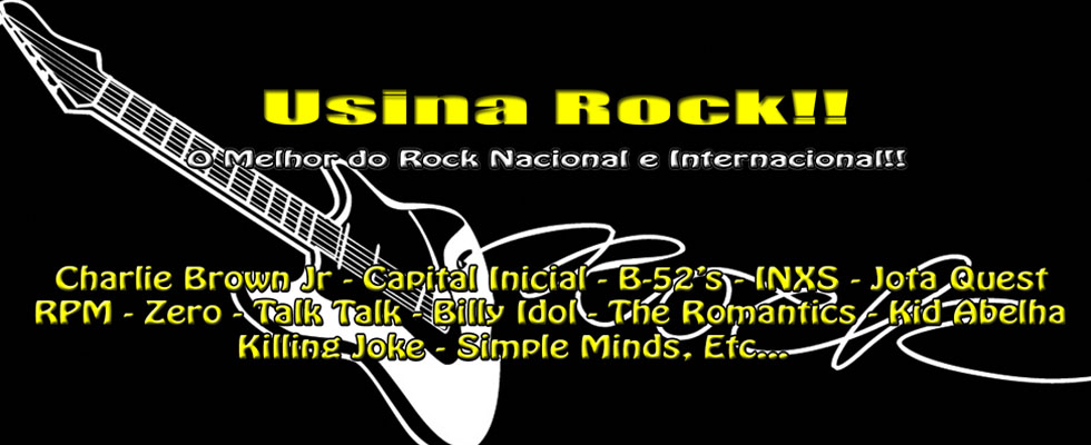 Usina do Som Pop Rock & Rock And Roll!