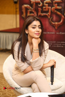 Shriya Saran Nandamuri Balakrishna at Gautamiputra Satakarni Team Press Meet Stills  0070.JPG
