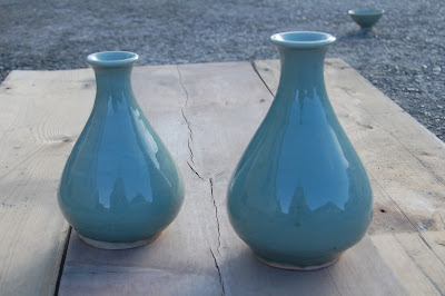 Koryo celadon bottle vase