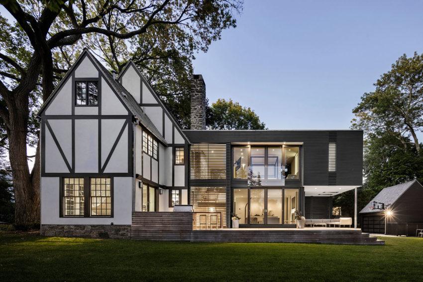 Charmant Modern English Tudor House Design Art Home Design Ideas