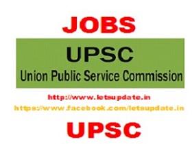 Union Public Service Commission (UPSC) jobs-letsupdate